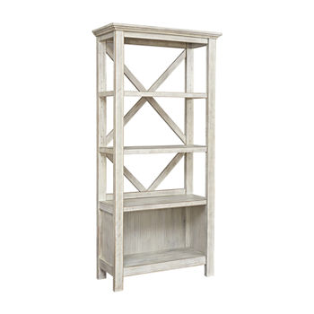 Signature Design by Ashley Carynhurst Office 4-Shelf Bookcase