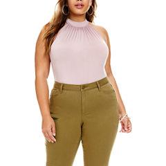 Fashion To Figure Nattie High-Neck Halter Bodysuit - Plus
