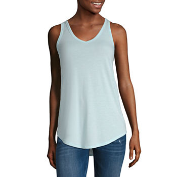 f38808f975abdf Tank Tops Tops for Women - JCPenney