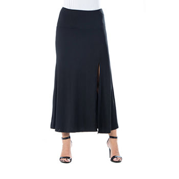 24/7 Comfort Apparel Womens Maxi Skirt
