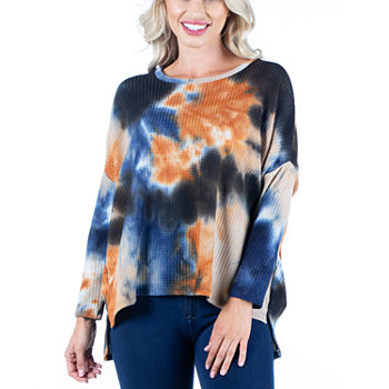 24/7 Comfort Apparel Womens Long Dolman Sleeve  Oversized Top