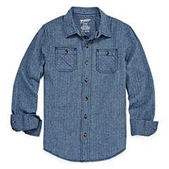 Arizona Long Sleeve Button - Front Shirt Boys