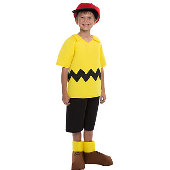 Peanuts: Charlie Brown Deluxe Child Costume Boys Costume