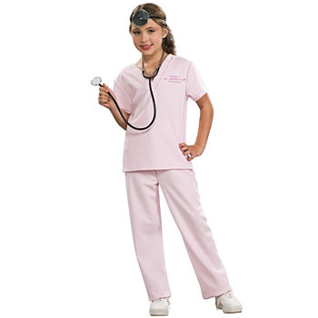 Pink Vet Child Costume Girls Costume Girls Costume