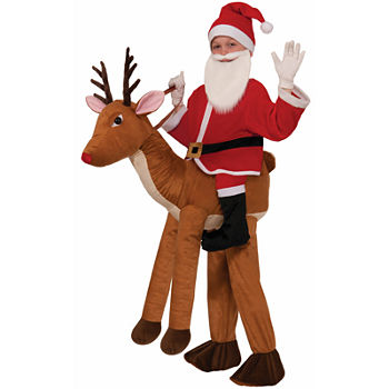 Ride A Reindeer Child Costume Boys Costume Boys Costume