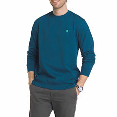 IZOD Advantage Performance Solid Crew neck Fleece