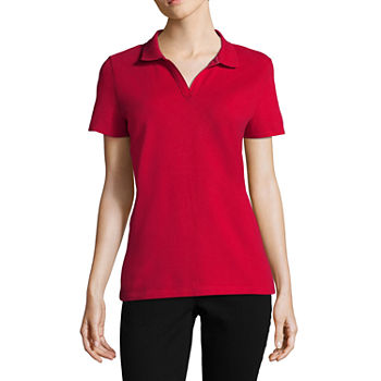 St. John s Bay Polo Shirts for Women - JCPenney 882e37c5fd