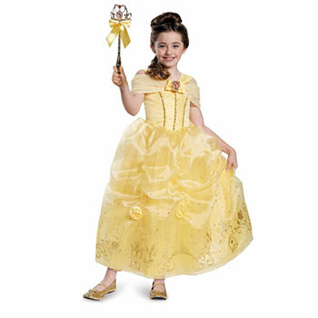 Disney Storybook Belle Prestige Girls Costume