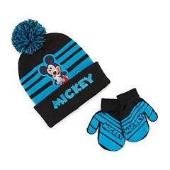 Mickey Mouse Hat & Glove Set - Toddler Boys