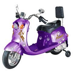 Giggo Toys - Li'l Skootah 6V Battery Powered Scooter, Purple