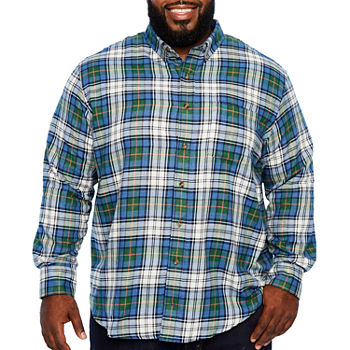 189a25349c11 Big Tall Size Flannel Shirts for Men - JCPenney