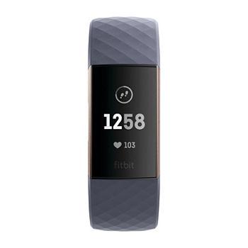 7e729e9e328c Fitbit Charge 3 Unisex Blue Smart Watch-Fb409rggy