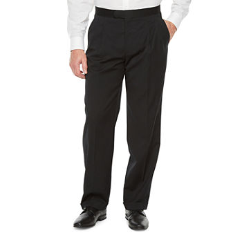 Stafford Travel Mens Classic Fit Tuxedo Pants Big and Tall
