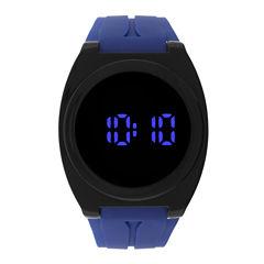 Mens Black Strap Watch-32907