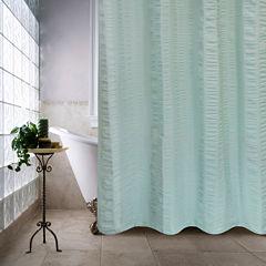 Park B Smith Seersucker Bands Shower Curtain