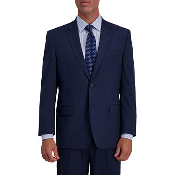 JM Haggar 4-Way Stretch Classic Fit Houndstooth Classic Fit Stretch Suit Jacket
