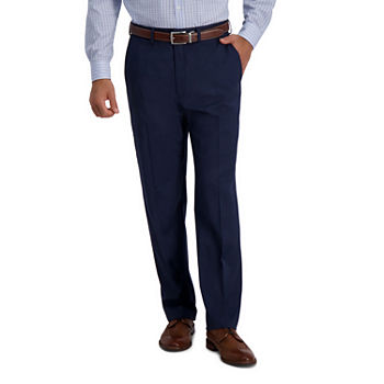 JM Haggar 4-Way Stretch Classic Fit Houndstooth Classic Fit Stretch Suit Pants