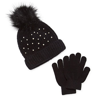 Capelli of N.Y. Little & Big Girls 1 Pair Cold Weather Set