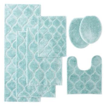 bathroom rug runners bath rugs & bath mats for bed & bath - jcpenney