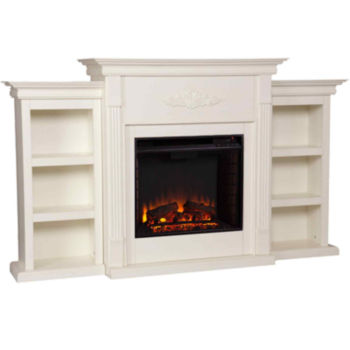 Electric Fireplaces White Under 15 For Labor Day Sale Jcpenney