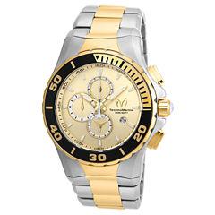 Techno Marine Mens Two Tone Bracelet Watch-Tm-215046