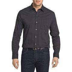 Van Heusen Long Sleeve Traveler Non Iron Stretch Shirt