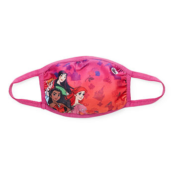 Disney Princesses Kids Unisex Disney Princess Face Mask