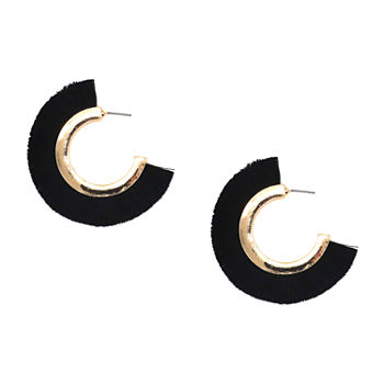 Bijoux Bar Hoop Earrings