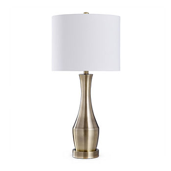 Stylecraft 14 X 14 Table Lamp Steel Table Lamp