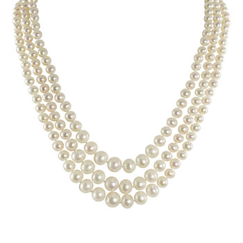 Pearl fine necklaces pendants for jewelry watches jcpenney average rating aloadofball Gallery
