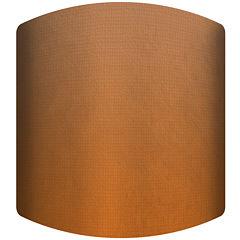Dark Orange Drum Lamp Shade