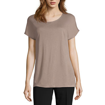 1a16a9dd Worthington Womens Round Neck Long Sleeve Blouse · (9). Add To Cart. Only  at JCP