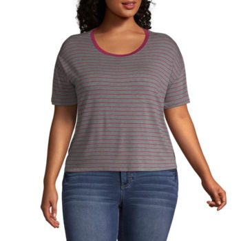 Arizona Juniors Plus Size Tops For Women Jcpenney