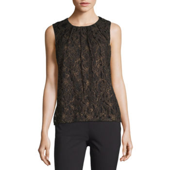 Misses Size Lace Tops For Women Jcpenney