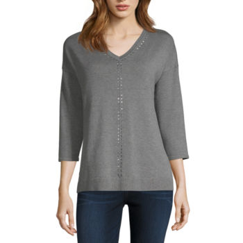 Clearance 34 Sleeve Sweaters Cardigans For Women Jcpenney