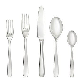Crafthouse By Fortessa Grand City 20-pc. 18/10 Stainless Steel Flatware Set