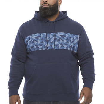 The Foundry Big & Tall Supply Co.-Mens Long Sleeve Hoodie