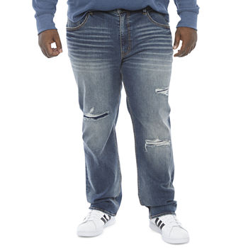 The Foundry Big & Tall Supply Co. Flex Athletic Fit Denim Jeans