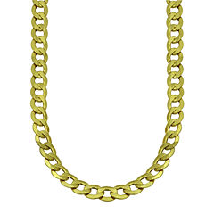 LIMITED QUANTITIES! 10k Yellow Gold Hollow Curb 22