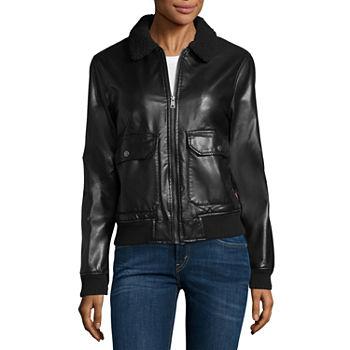 4fe819a14 Faux Leather Jackets for Women | Women's Coats | JCPenney