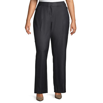 Worthington Womens New Curvy Fit Trouser - Plus