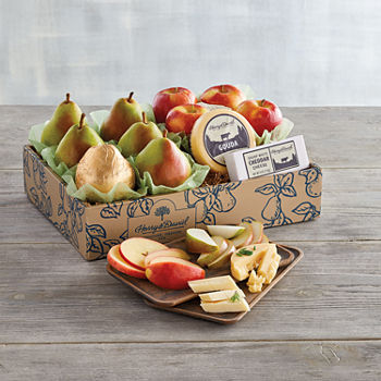 Harry & David Classic Pears, Apples, And Cheese Gift