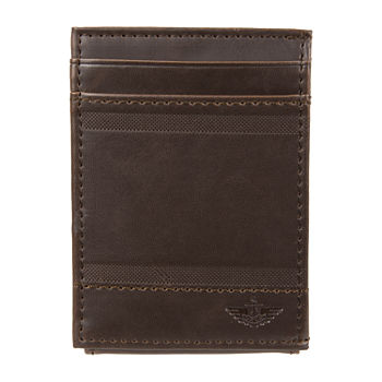 Dockers Rfid Wide Magnetic Mens Front Pocket Wallet