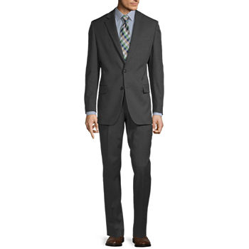 Stafford Super Gray Stria Classic Fit Suit Separates