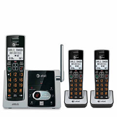 AT&T CL82313 DECT 6.0 Cordless Phone with Answering System - 3 Handsets