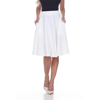 80692c8e81 Flared Skirts White Skirts for Women - JCPenney