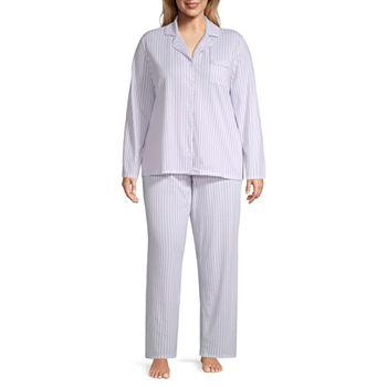 7f04a17264 Adonna Long Sleeve Pant Pajama Set- Plus. Add To Cart. Only at JCP
