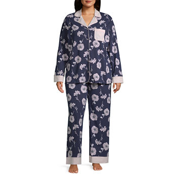 2fdeaa824ede Plus Size Pajamas   Robes for Women - JCPenney