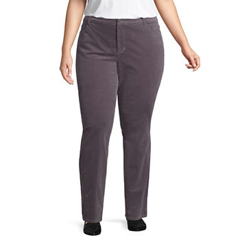 3cf64080d72 CLEARANCE Plus Size Pants for Women - JCPenney