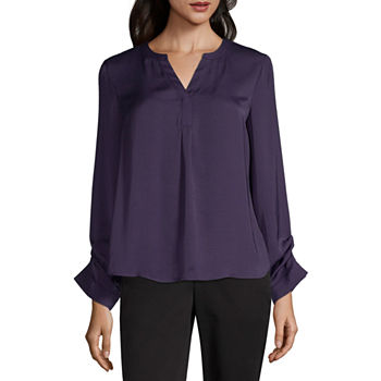 499f13f5fe3d1 CLEARANCE Worthington Tops for Women - JCPenney